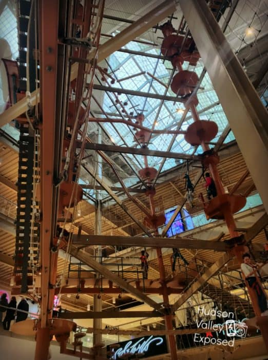 The Palisades Mall Climb Adventure is a great attraction for all to enjoy.