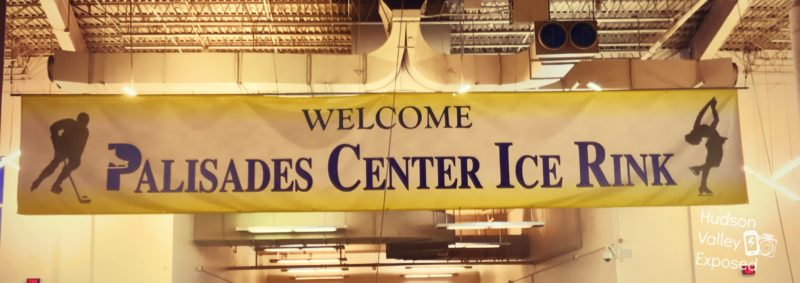 On the top floor of the Palisades Center is the Palisades Center Ice Rink where they have games and open skate times.