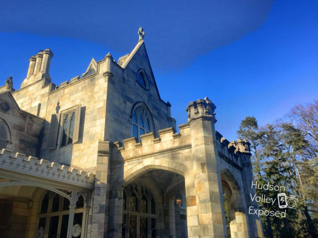 Lyndhurst Mansion is located in Tarrytown, NY. Just one of the towns in Westchester located along the Hudson River.
