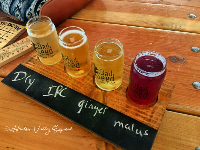 A sampling of Hard Cider for one person or to share