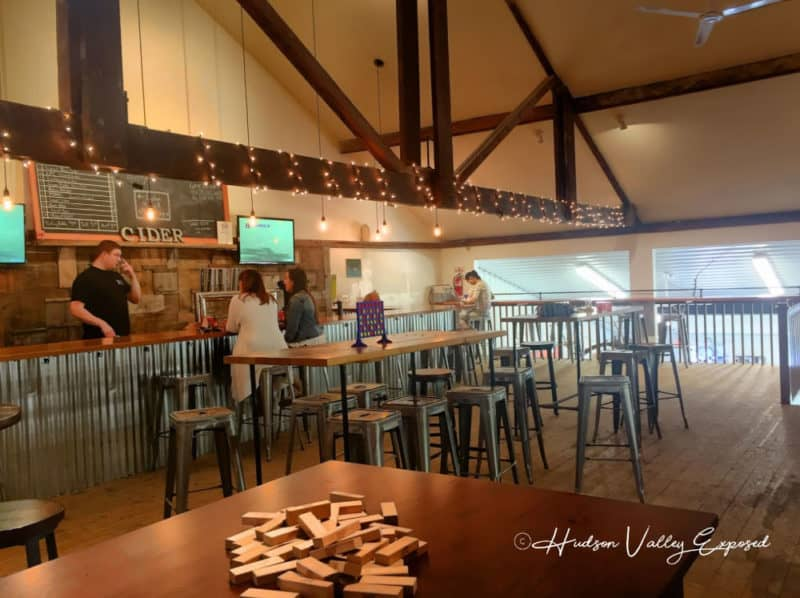 Taste one of the best examples of Hudson Valley Cider at Bad Seed Cider Compnay in Highland, NY