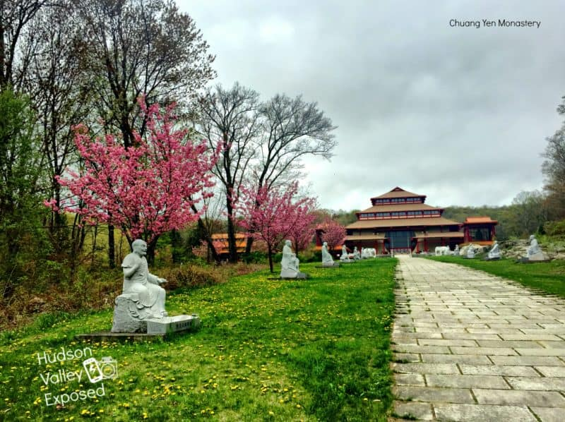 Chuang Yen Monastery is home to the largest indoor Buddha in the Western Hemisphere.