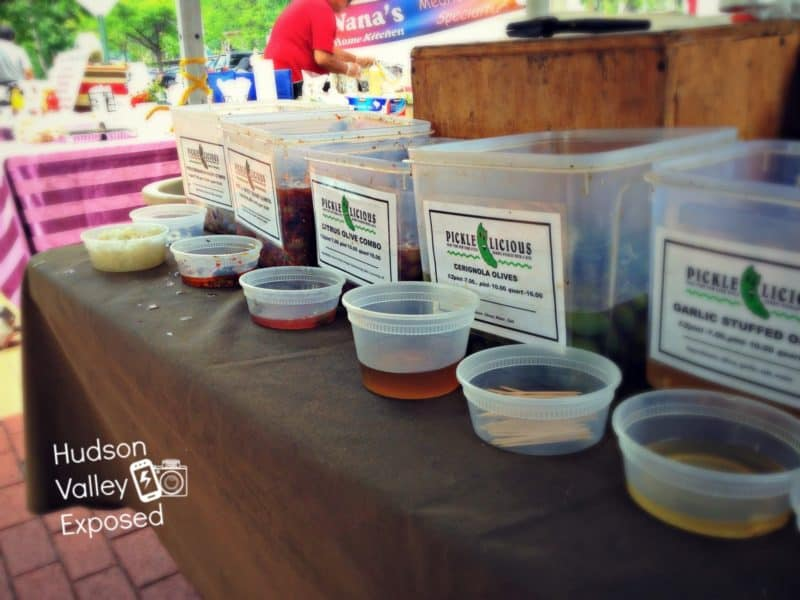 Vendors at the Hudson Valley Farmers Markets
