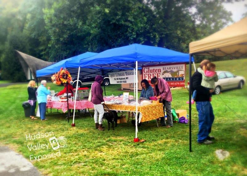 Vendors at Hudson Valley Farmers Market
