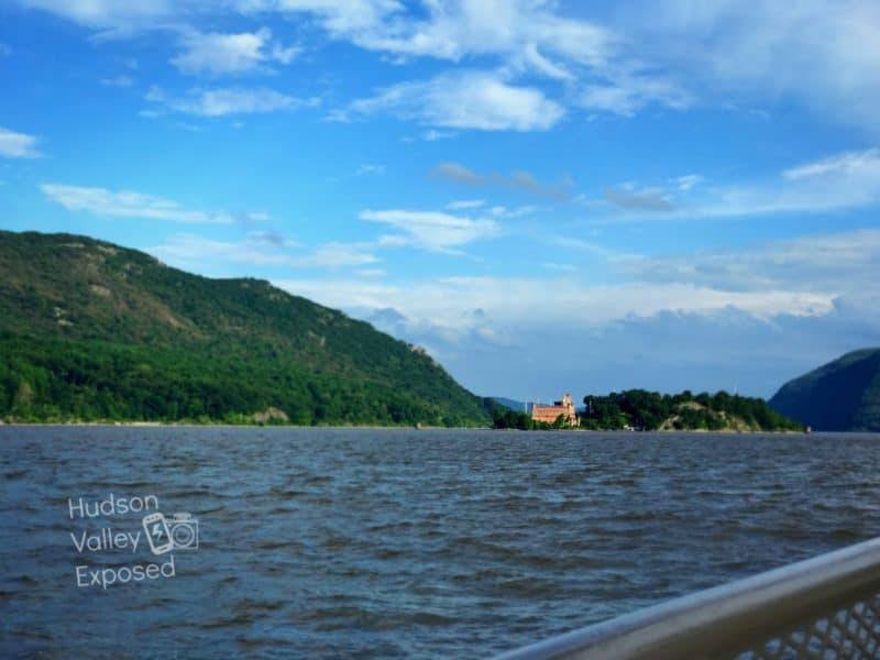 View from Ferry boat ride on Bannerman Castle Tour