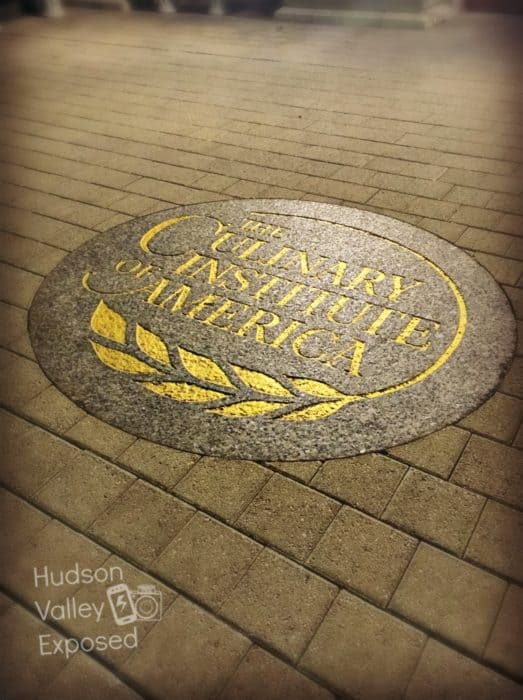 The Culinary Institute of America is located along the Hudson River in Hyde Park, NY