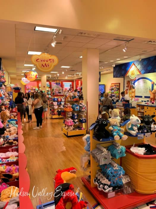 Look inside the Build a Bear workshop at the Palisades Center Mall
