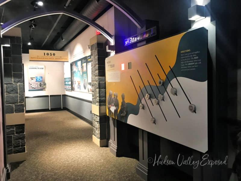 Exhibit at the West Point Vistors Center