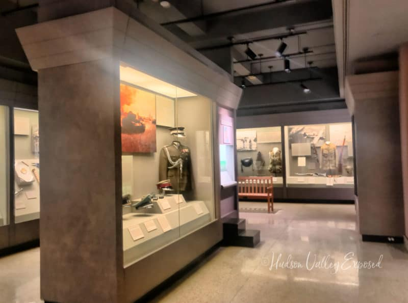 Displays at the West Point Museum