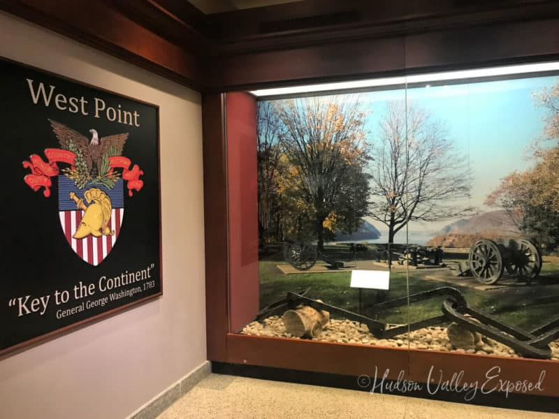 Display at the West Point Museum
