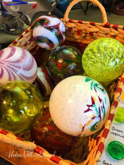 Beacon Glass Shop showcases glass ornaments