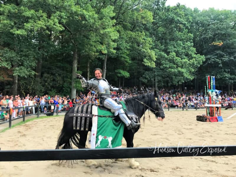 Horseman at the Joust at the NY Renaissance Faire