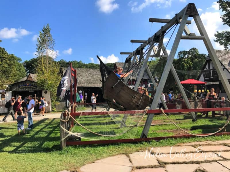 Dragon Swing is one of the best New York Renaissance Faire Events
