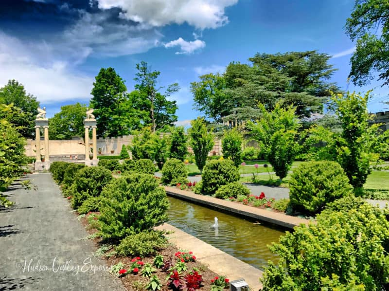 The prettiest of all views from Yonkers Parks is from Untermyer Park and Garden