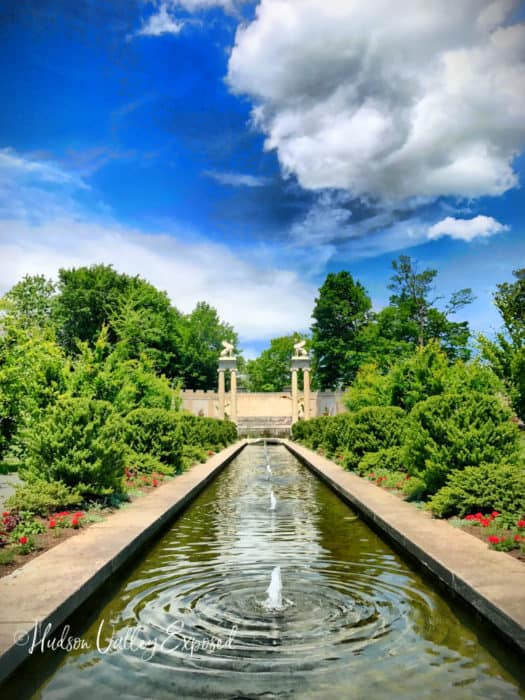 Yonkers Parks and Gardens are full of beautiful landscapes.