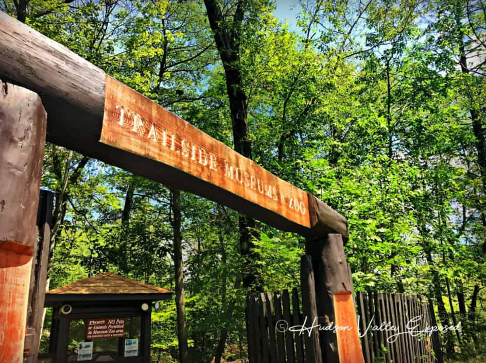 Entrance of Trailside Museums and zoo. One of the best Bear Mountain Activities and best things to do in Rockland County