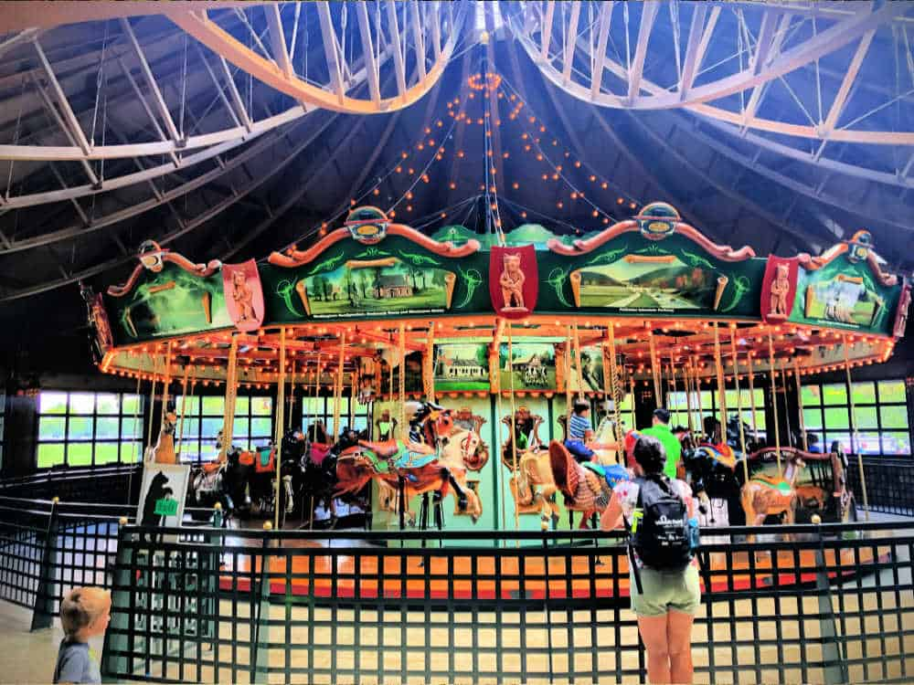 Bear Mountain Carousel at Bear Mountain State Park is one of the best things to do in Rockland County