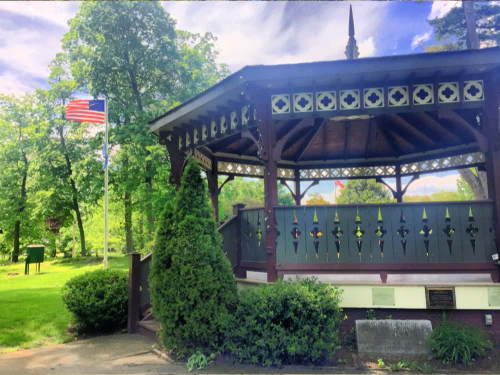 Gazebo at Mesier Park in Wappingers Falls, NY