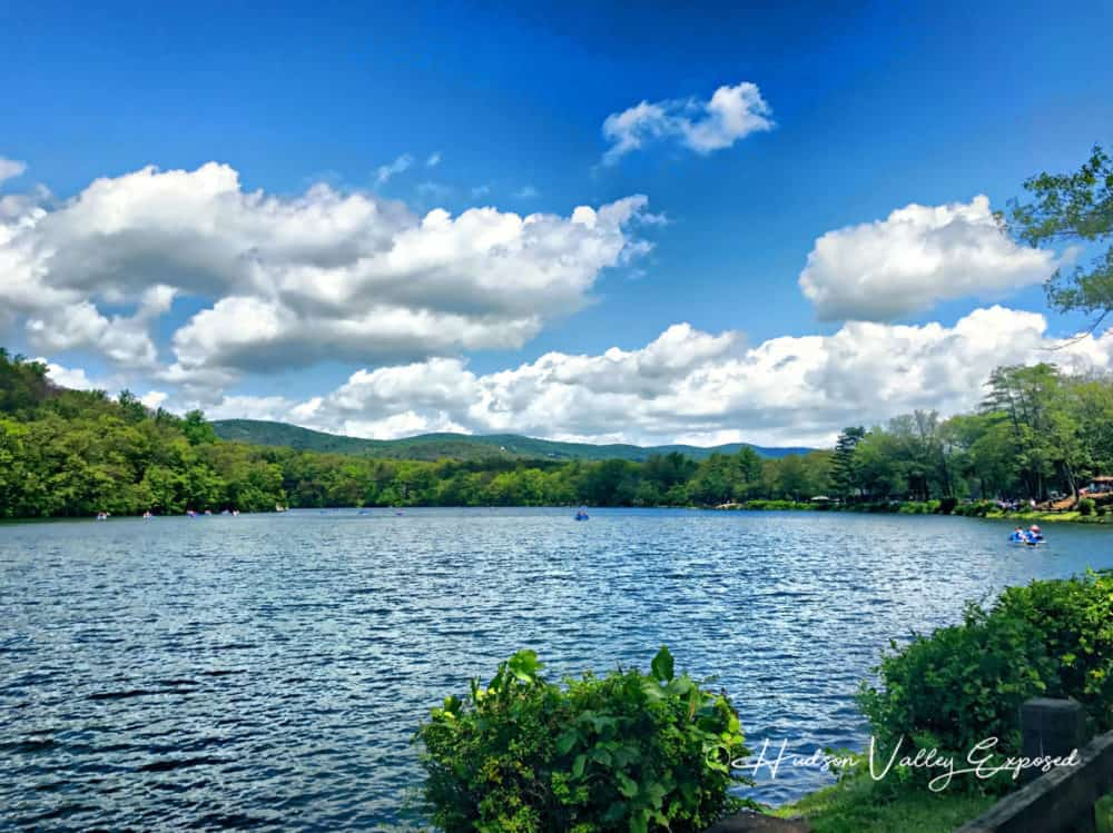 Lake Hessian at Bear Mountain. Things to do in Rockland County.