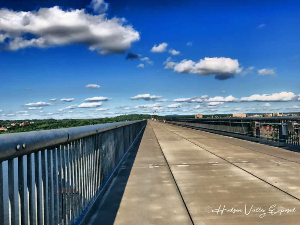 the view as you walk on the Walkway over the Hudson