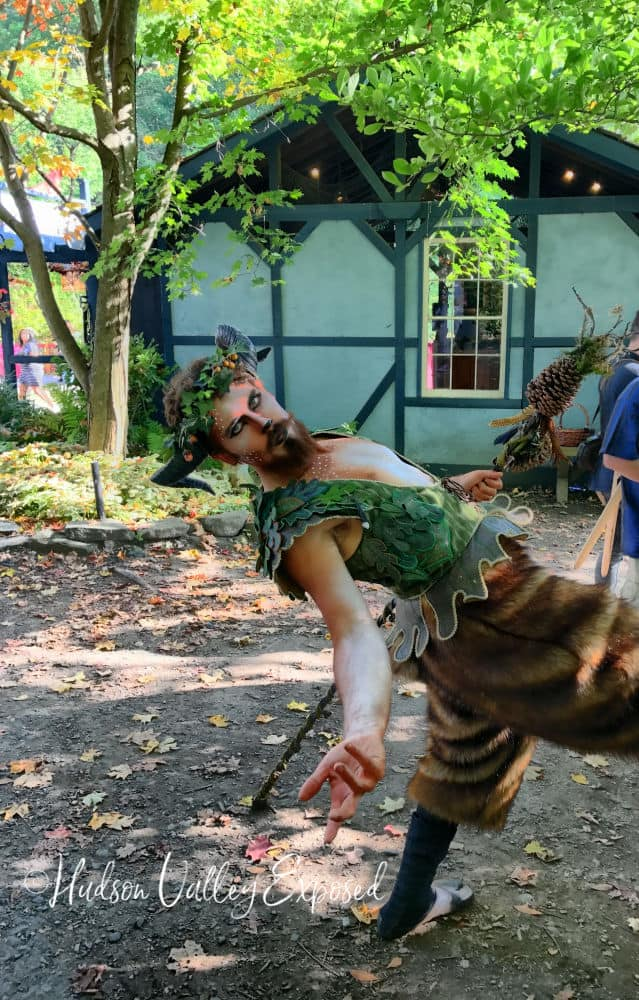 Fairy at one of the New York Renaissance Faire Events