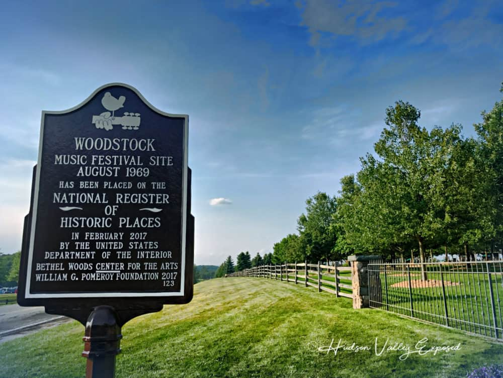 Bethel Woods is on the National Register of Historic Places