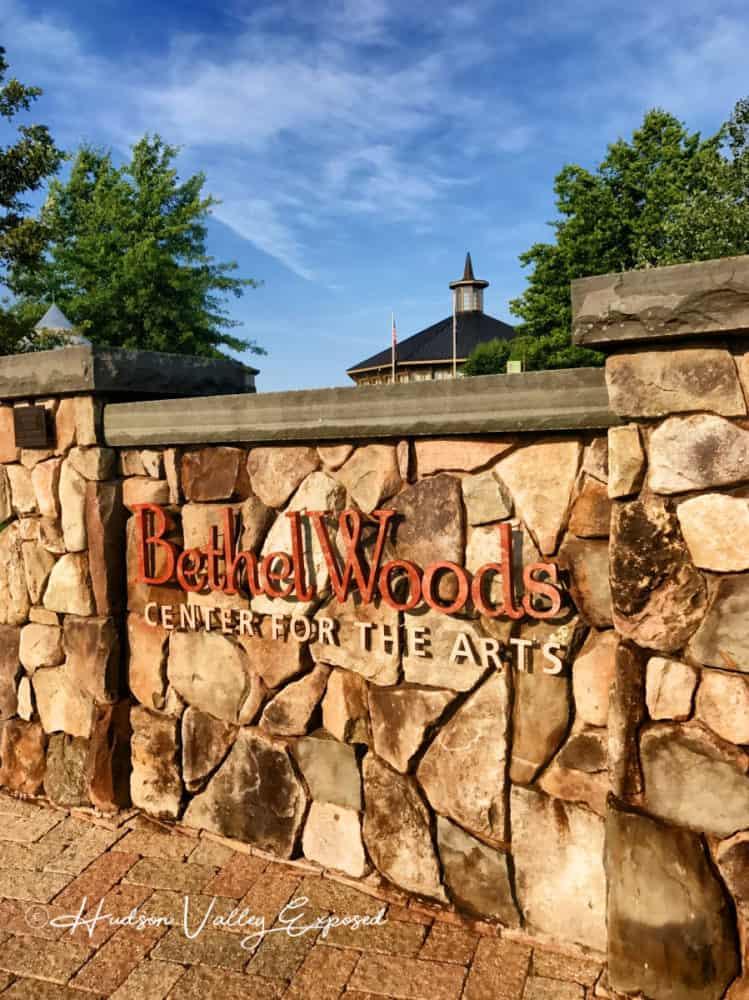 The Entrance to Bethel Woods Pavilion for Bethel Woods Concerts