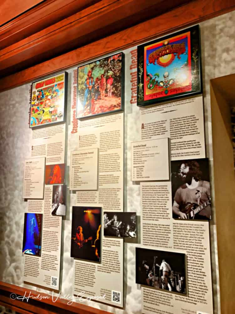 Woodstock Artists' name at the Museum at Bethel Woods