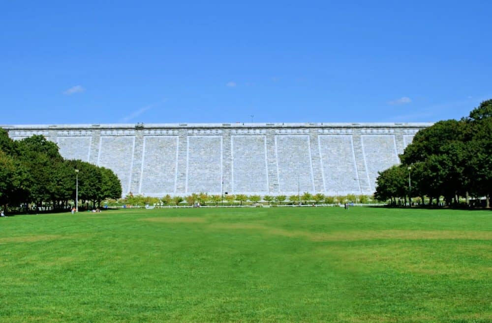 Kensico Dam in the Hudson Valley