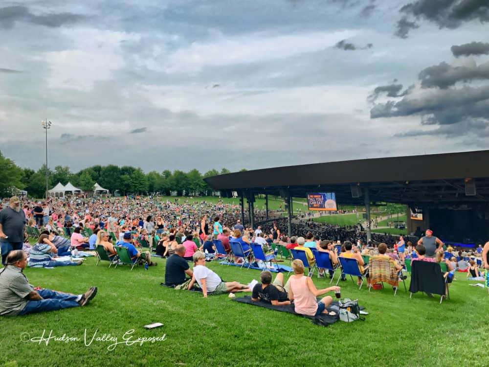 Lawn seats at Bethel Woods Center for the Arts
