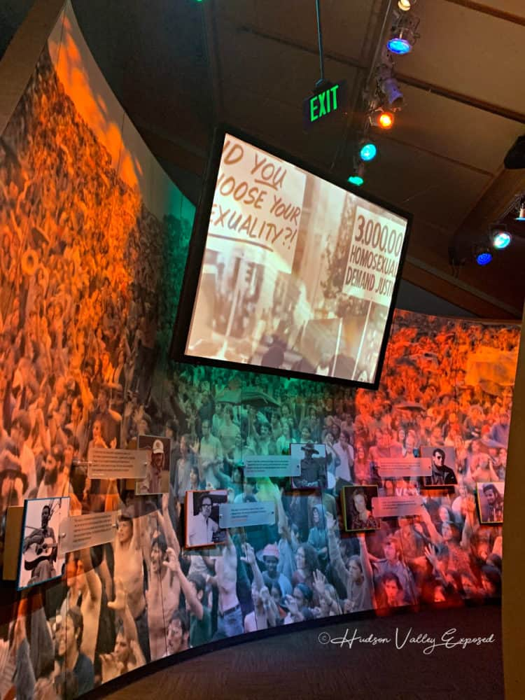 Video Installation at the Museum at Bethel Woods