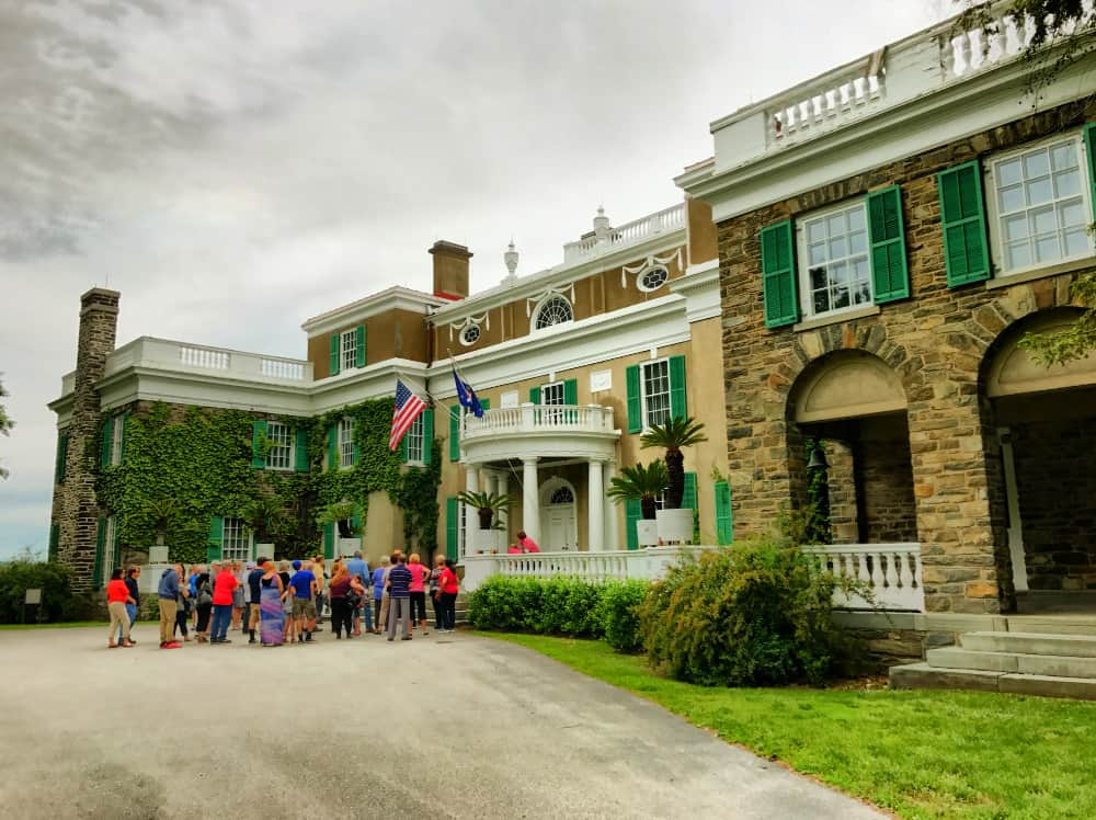 Springwood in Hyde Park is one of the Hudson Valley Landmarks important in history