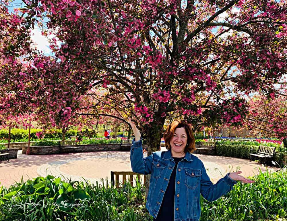 Jackie at Orange county Arboretum, Hudson Valley NY