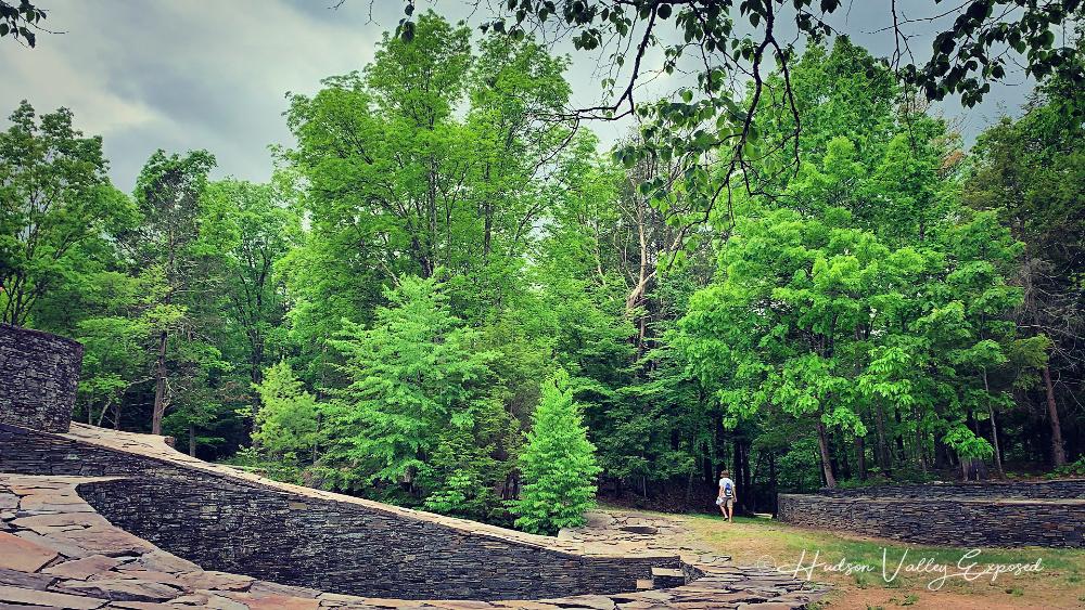 Walking in the Hudson Valley Sculpture Park