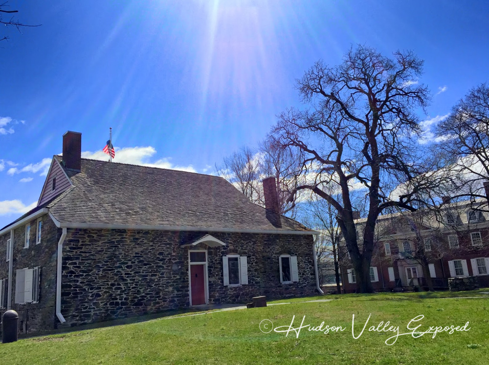 Hasbrouck House at the Washington Headquarters State Historic Site is one of the popular Hudson Valley day trips.
