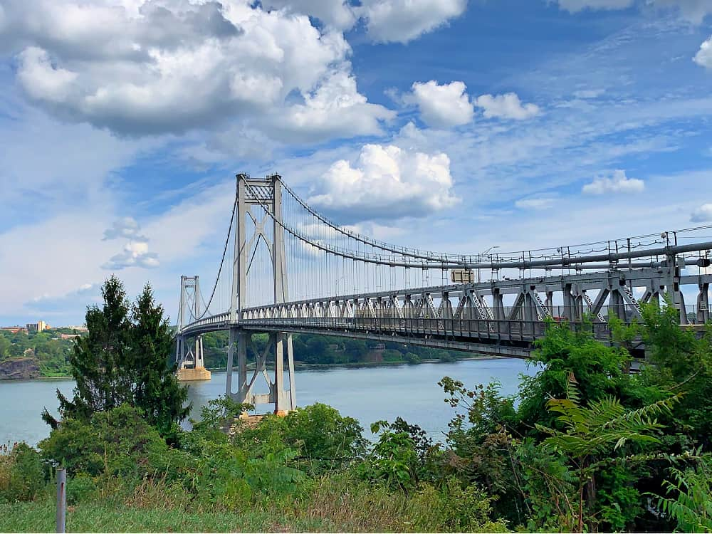 The Mid-Hudson Bridge connects Ulster County to Dutchess County.
