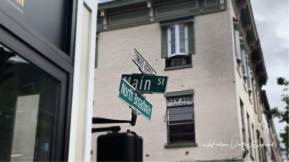 Street signs in Nyack NY. Things to do in Nyack NY