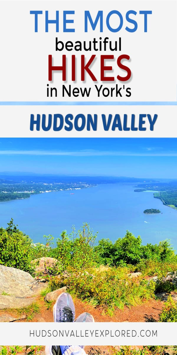 Discover the most beautiful hikes in the Hudson Valley. Hiking in the Hudson Valley is a popular activity. Many people make day trips from New York City while other make Hudson Valley Weekends out of their adventures. Hudson Valley Hiking can be found in each of the 10 counties that make up this beautiful area of New York. Things to do in New York | Things to do in the Hudson Valley | #newyork