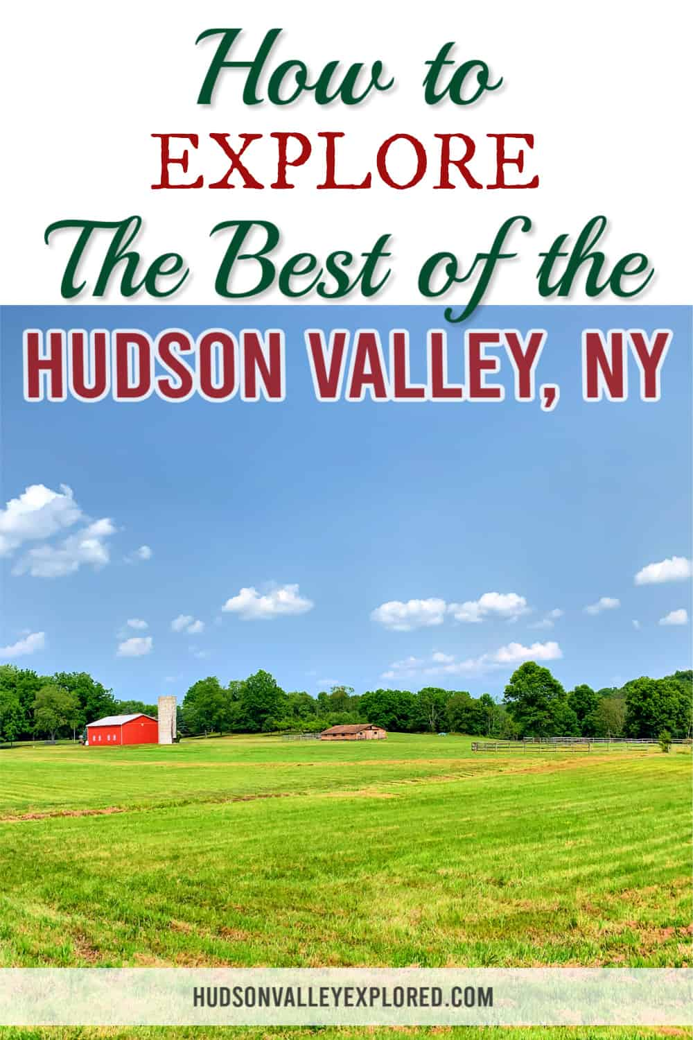 Discover how to explore the best of the Hudson Valley. From taking the train to seeing new and exciting places, the Hudson Valley New York has something for everyone. It is the #1 destination for New York City and is great for a weekend getaway. #newyork #hudsonvalley