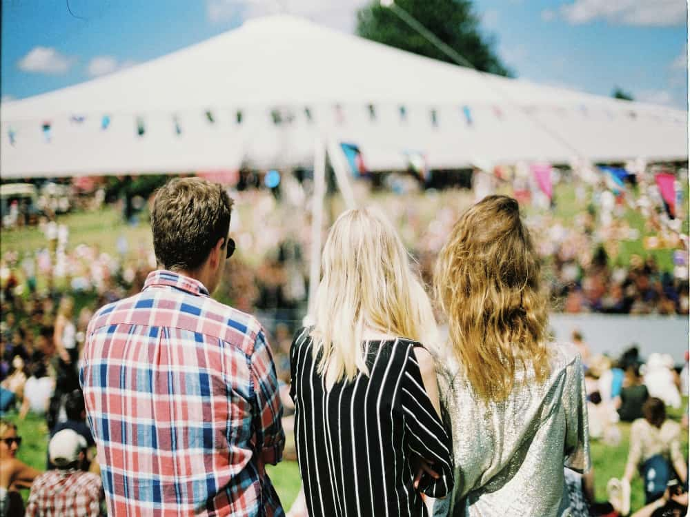 Spectators at one of the popular Hudson Valley Events