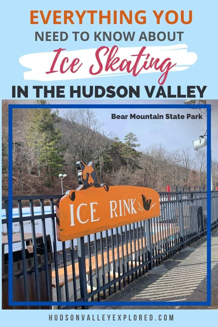 Discover Everything you need to know about Hudson Valley Ice Skating:  The Best Gear to Have, Indoor & Outdoor Hudson Valley Ice Skating Rinks, Essentials and Direct Access to all the rinks' websites.  This Hudson Valley Winter Activity is perfect for Hudson Valley Families. It's one of the best things to do in the Hudson Valley during Winter.  The season is short, so visiting these Hudson Valley rinks is imperative to exploring the Hudson Valley New York during Winter. #newyork