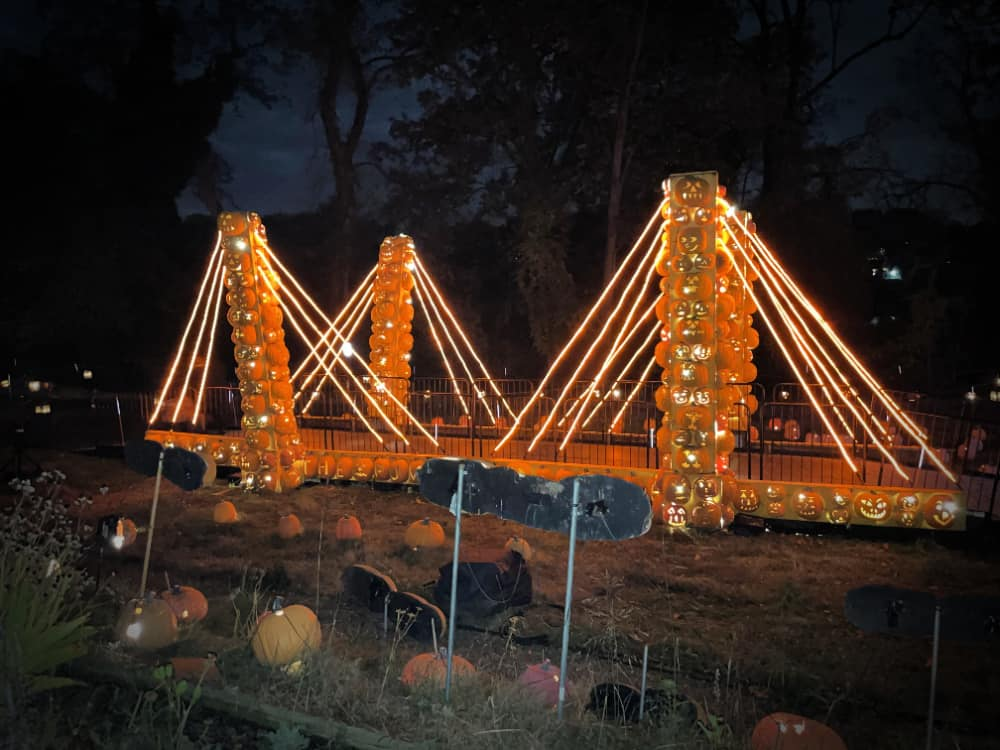 The Great Jack O'Lantern Blaze takes place every year in one of the river towns in Westchester.