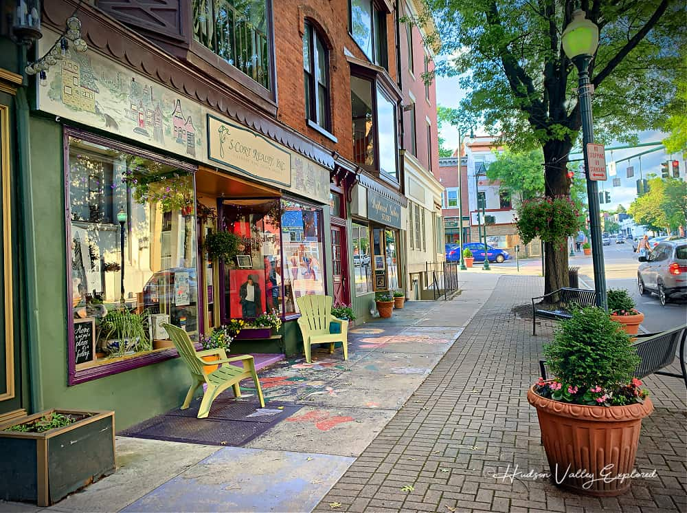 Walking on Main Street and Division Street are one of the best things to do in Peekskill