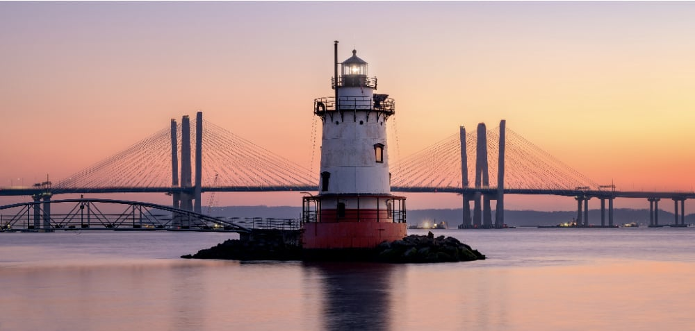 Sleepy Hollow Lighthouse is one of the things you can see in one of the most popular towns in Westchester.