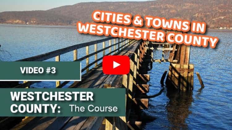 The Peekskill waterfront is a great example of the beautiful cities in Westchester County