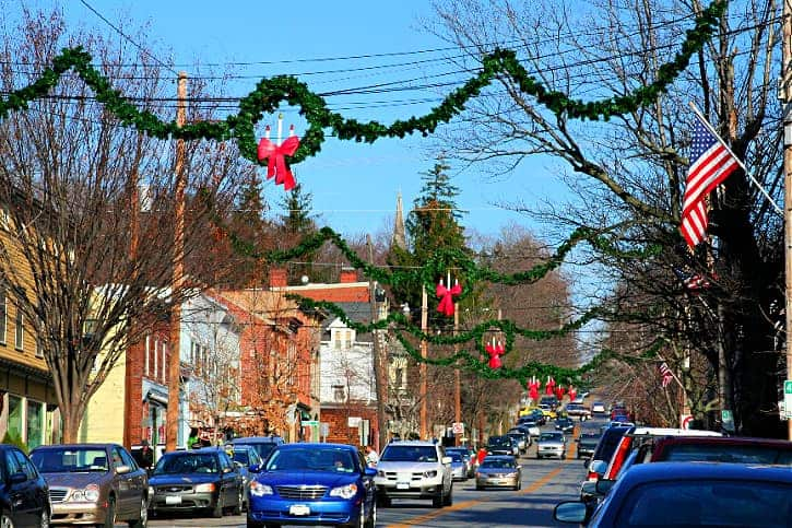 Walking on Main Street in Cold Spring is one of the best things to do in Cold Spring NY