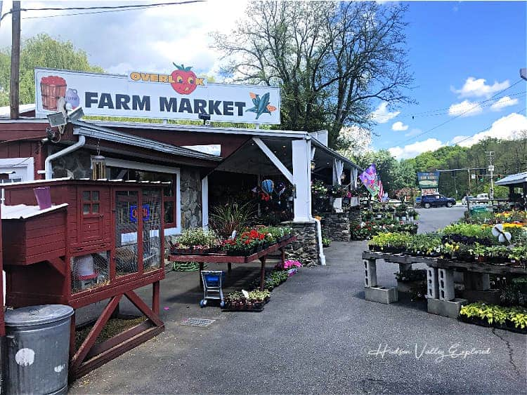 Visiting Overlook Farm Market is one of the best things to do in Newburgh NY