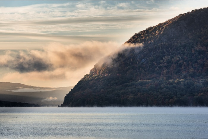 Storm King State Park at one of the best Hudson Valley towns by the Hudson River