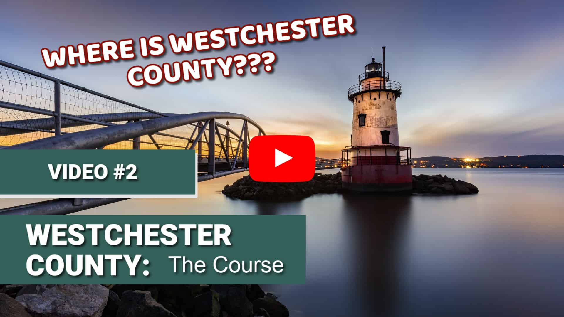 Where is westchester county? This second video in this free mini-course explains exactly where Westchester County is located.
