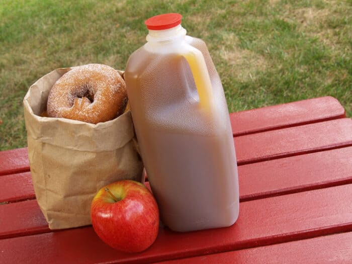 Apple Cider and Donuts from Hudson Valley Farms
